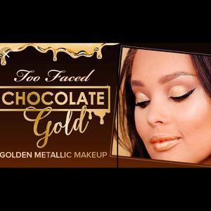 ⚜️BRAND NEW⚜️Too Faced Chocolate Gold Eyeshadow⚜️